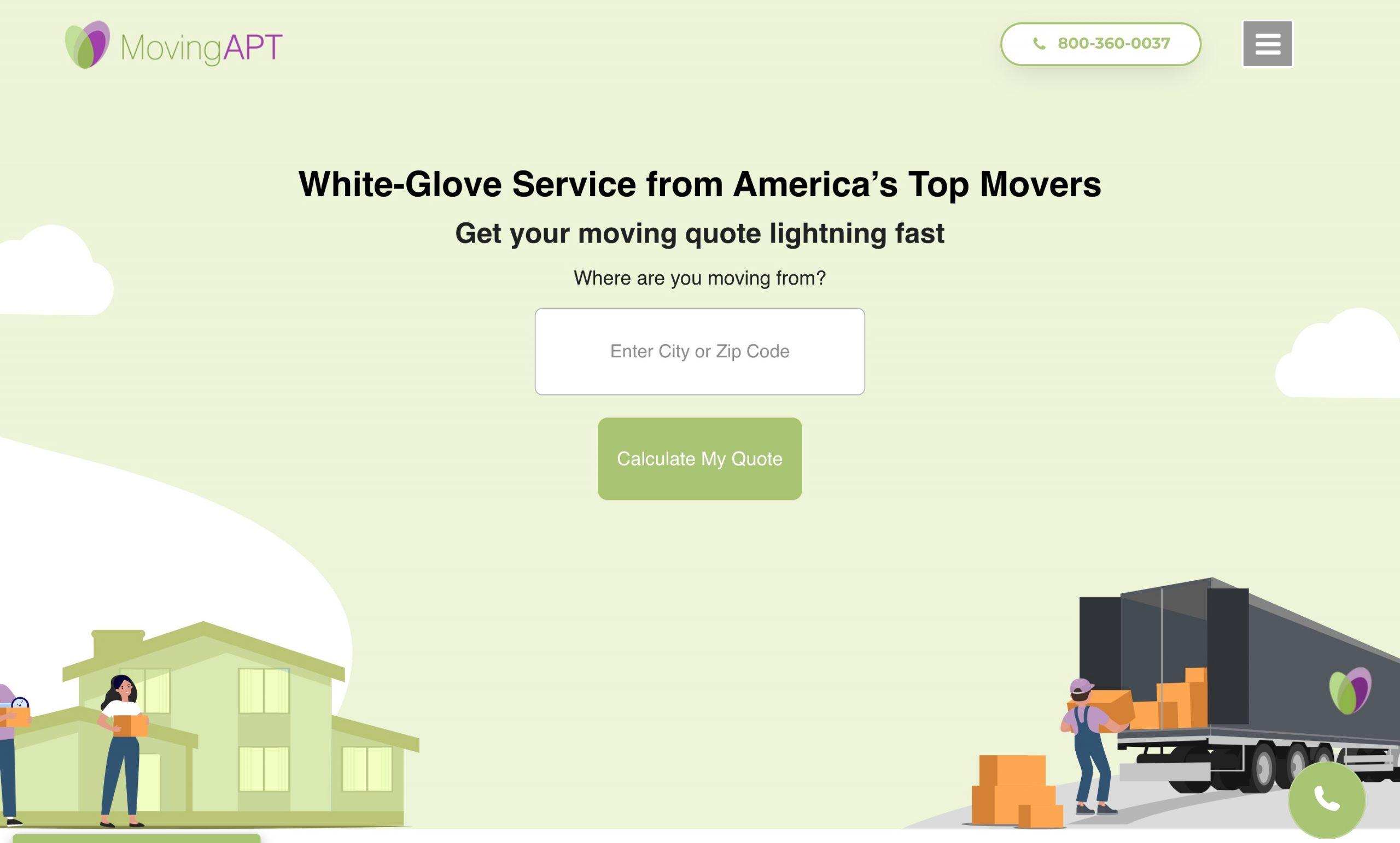 Moving APT main page